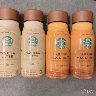 Starbucks Coffee - スターバックス バニララテ キャラメルマキアート