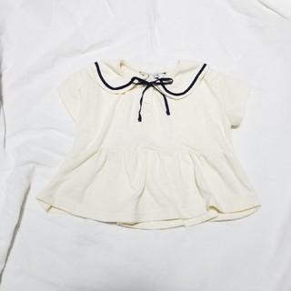 futafuta - ウタカタデコ セーラー襟カットソー