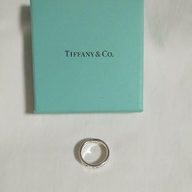 Tiffany & Co.(ティファニー)のティファニー  TIFFANY & Co. 1837 wide メンズ リング メンズのアクセサリー(リング(指輪))の商品写真