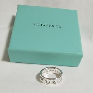 Tiffany & Co. - ティファニー  TIFFANY & Co. 1837 wide メンズ リング