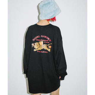 X-girl - X-girl DELIVERY L/S BIG TEE DRESS タグ付き新品