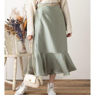 ナイスクラップ(NICE CLAUP)のアニマルマーメイドスカート(ロングスカート)