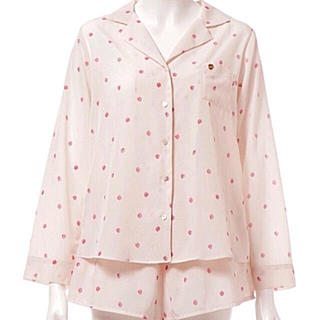 gelato pique - ❤完売商品❤(ピンク)【ジェラートピケ】ストロベリーサテンシャツ&ショートパンツ