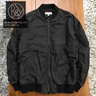 BEAUTY&YOUTH UNITED ARROWS - BEAUTY&YOUTH MA-1フライトジャケットメンズ送料込