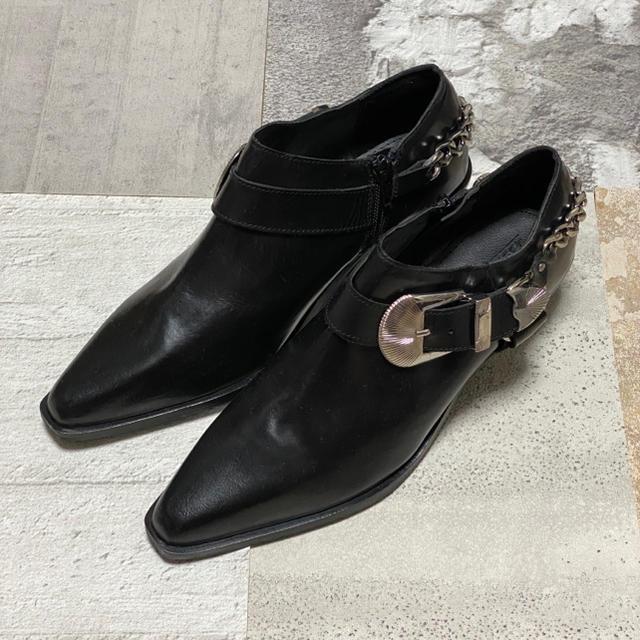 TOGA(トーガ)のウエスタンブーツ ヒールブーツ メンズ メンズの靴/シューズ(ブーツ)の商品写真
