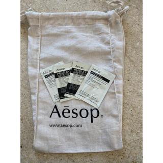 Aesop - イソップ☆Aesopショップ巾着+サンプルセット☆新品未使用