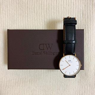 Daniel Wellington - ダニウェルウェリントン 腕時計 ブラック 36mm