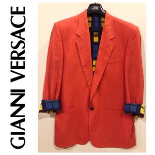 ジャンニヴェルサーチ(Gianni Versace)のGianniVersace シルク100% ジャケット(その他)