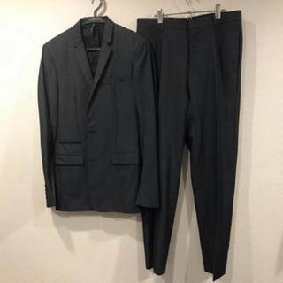DIOR HOMME - dior homme セットアップ グレー ストライプ  スーツ ビジネス