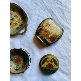marimekko - 置物 インド製(右上)