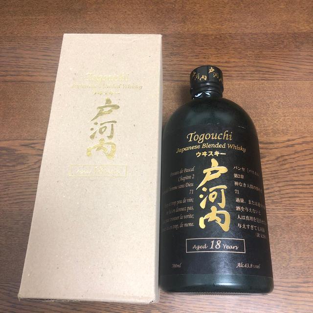 戸河内 18年 食品/飲料/酒の酒(ウイスキー)の商品写真