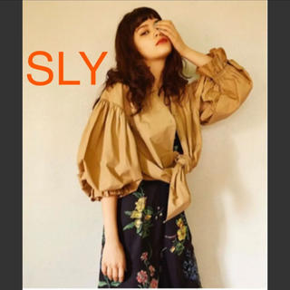 SLY - SLY ボリュームシャツ