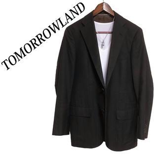 TOMORROWLAND - TOMORROWLAND テーラードジャケット 黒 高級感 ビジネスジャケット