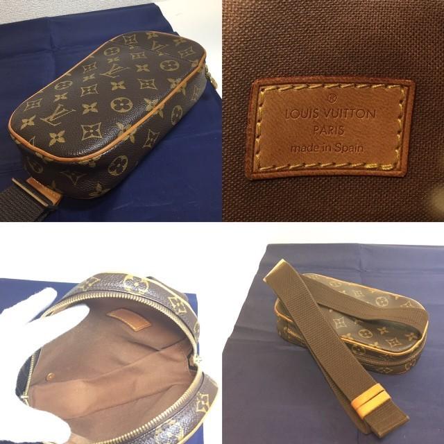 LOUIS VUITTON(ルイヴィトン)のルイヴィトン ポシェット ガンジュ レディースのバッグ(ボディバッグ/ウエストポーチ)の商品写真
