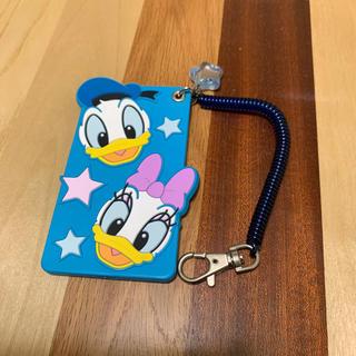 Disney - ディズニー パスケース ドナルド&デイジー