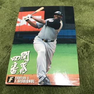 北海道日本ハムファイターズ - 2003年 カルビー プロ野球 セギノール 背番号5 北海道日本ハムファイターズ