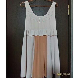 ジルスチュアート(JILLSTUART)のジルスチュアートの編み上げワンピース ドレス(ミニワンピース)