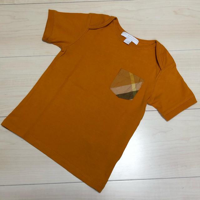 BURBERRY(バーバリー)のバーバリー《2Y》Tシャツ キッズ/ベビー/マタニティのキッズ服男の子用(90cm~)(Tシャツ/カットソー)の商品写真