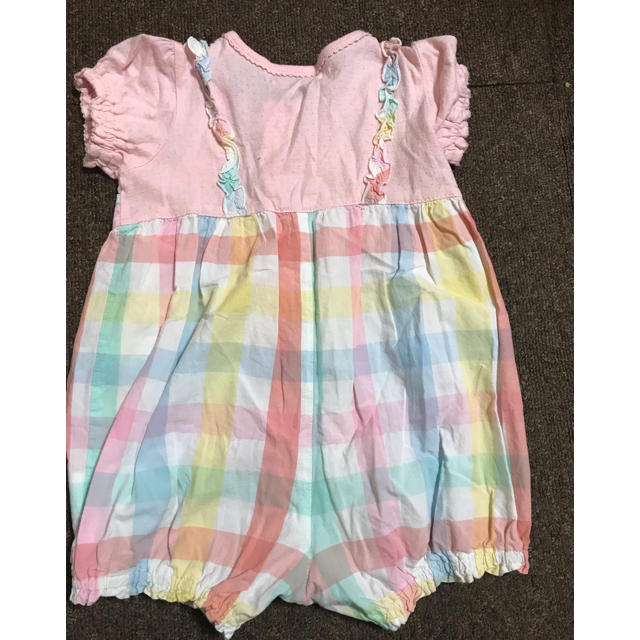 coeur a coeur(クーラクール)のおまとめ クーラクール ロンパース 80サイズ  キッズ/ベビー/マタニティのベビー服(~85cm)(ロンパース)の商品写真