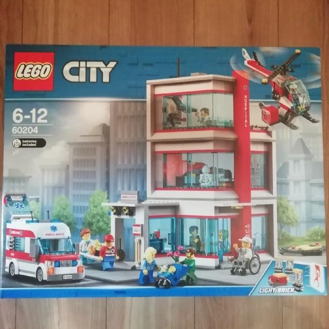 Lego(レゴ)のレゴシティ 60204 病院 キッズ/ベビー/マタニティのおもちゃ(積み木/ブロック)の商品写真
