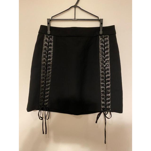 DOLCE&GABBANA(ドルチェアンドガッバーナ)のDOLCE&GABBANA 台形 スカート 編み込み レディースのスカート(ミニスカート)の商品写真