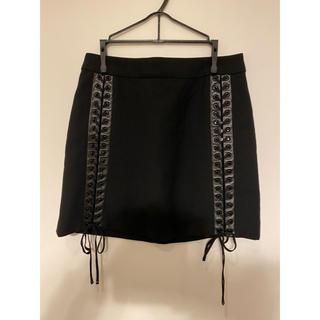 DOLCE&GABBANA - DOLCE&GABBANA 台形 スカート 編み込み
