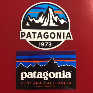 patagonia - パタゴニア  ステッカー 2枚