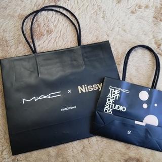 マック(MAC)のMAC×Nissy  ショップ袋 2個セット(ショップ袋)