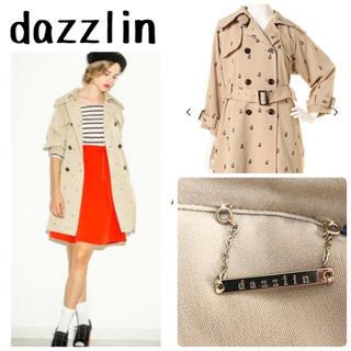 dazzlin - dazzlin トレンチコート 総柄 定価19900円