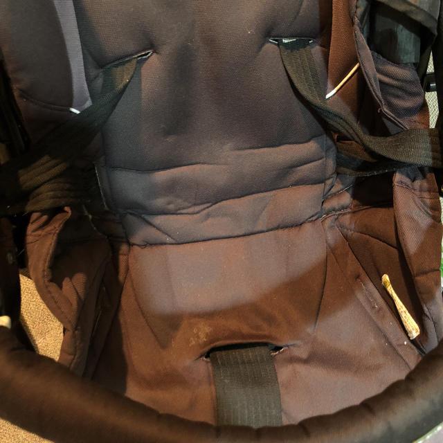 combi(コンビ)のコンビ エメドール ベビーカー  AB型兼用 A型B型 combi ブラック キッズ/ベビー/マタニティの外出/移動用品(ベビーカー/バギー)の商品写真