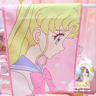 セーラームーン - 【新品未開封】美少女戦士セーラームーン フェイスタオル(うさぎちゃん横顔)