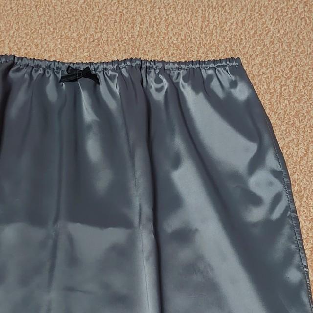 訳ありハンドメイドペチコート グレー フリーサイズ レディースの下着/アンダーウェア(その他)の商品写真