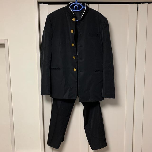 標準型学生服 学ラン 上下セット メンズのスーツ(スーツジャケット)の商品写真