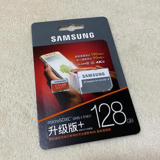 SAMSUNG - SDカード 128GB microSD SAMSUNG サムスン