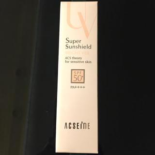 アクセーヌ(ACSEINE)の新品未使用 アクセーヌ スーパーサンシールド(化粧下地)