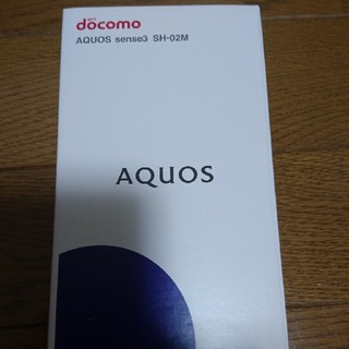 SHARP - AQUOSsense3 sh-02SIMフリー可ドコモdocomoシャープスマホ