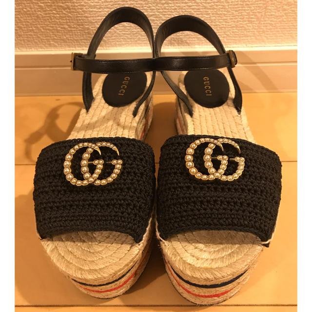 Gucci - 週末値下げ★GUCCIサンダルの通販