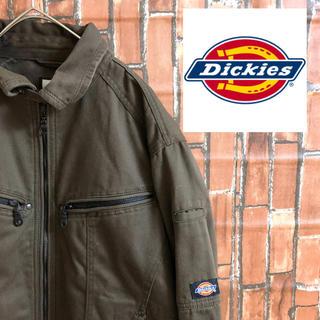 ディッキーズ(Dickies)の[激レア] 90s DICKIES ワンポイント  デトロイトジャケット(ナイロンジャケット)