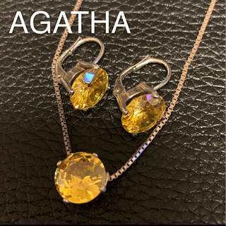AGATHA - アガタ ネックレス&ピアス セット