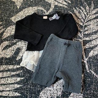 プティマイン(petit main)のワンピース セットアップ(セレモニードレス/スーツ)