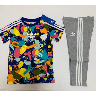 adidas - 新品 アディダス オリジナルス 半袖 Tシャツ パンツ セットアップ 100
