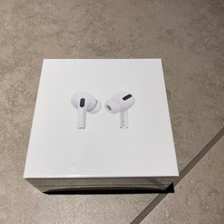 アップル(Apple)の新品未開封 AirPods pro エアーポッズ プロ APPLE 本体(ヘッドフォン/イヤフォン)