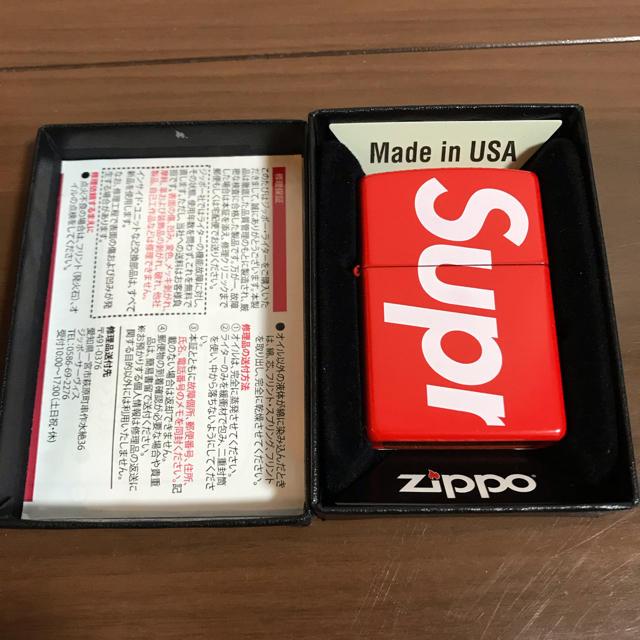 Supreme(シュプリーム)のSupreme zippo メンズのファッション小物(タバコグッズ)の商品写真