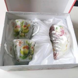 Apple ティーカップセット(食器)