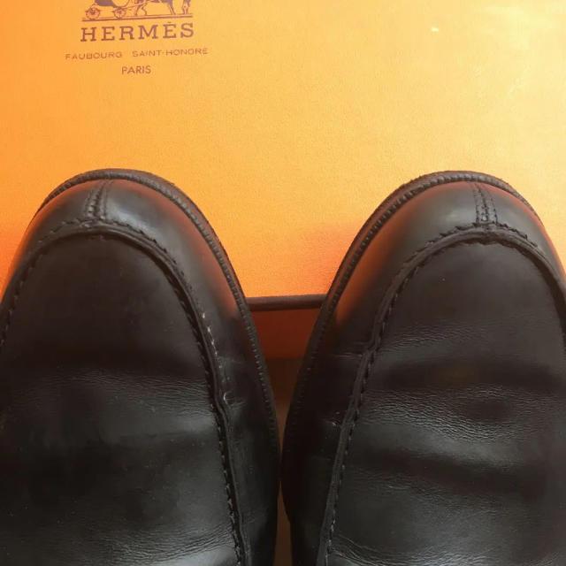 Hermes(エルメス)の美品 エルメス ローファー レディースの靴/シューズ(ローファー/革靴)の商品写真
