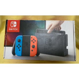 Nintendo Switch - 即購入大歓迎‼︎Nintendo Switch 任天堂 ネオンブルー・レッド