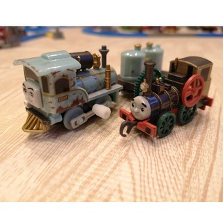 タカラトミーアーツ(T-ARTS)のカプセルプラレール トーマス レキシーとセオのセット(電車のおもちゃ/車)