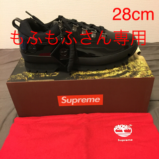 Supreme - SUPREME TIMBERLAND 20SS 最新シューズ 黒 28cm