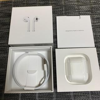 アップル(Apple)のAPPLE 純正 AirPods 第2世代 動作品 国内正規品(ヘッドフォン/イヤフォン)