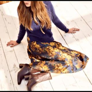 RANDA - ランダ  フラワージャガードスカート サイズ0